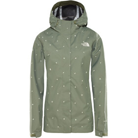 The North Face Print Venture Veste Femme, four leaf clover outdoor print